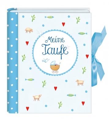 Album Meine Taufe hellblau 71117