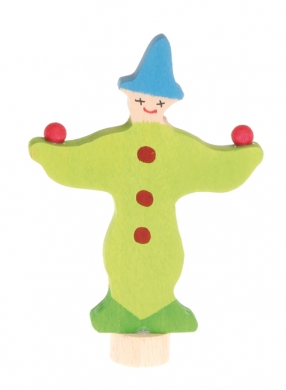 Stecker grüner Clown 03390