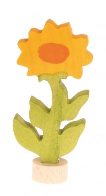 Stecker Ringelblume aufwendig handbemalt 04220