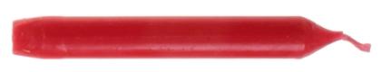 Rote Paraffin Baumkerze 05010