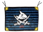 Mobile Preview: DIE SPIEGELBURG Capt´n Sharky Piratenflagge 13447