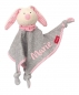 Preview: Sigikid Schnuffeltuch Urban Edition Hase rosa 39038