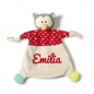 Preview: Nici Schmusetuch Eule 39247