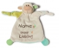 Mobile Preview: Nici Schmusetuch Lamm unser Liebling 40044