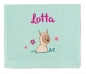 Preview: Sterntaler Lama Lotte Handtuch 7161953