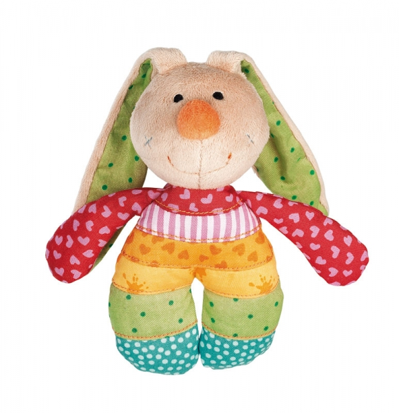 Sigikid Rainbow Rabbit Rassel 40578